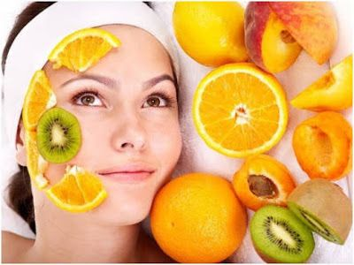 Fruit facial at home for dry skin