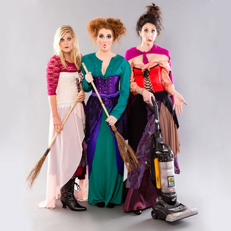 Hocus pocus movie costumes adults
