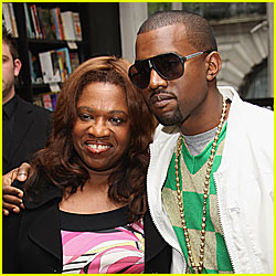 How did kanye wests mother died