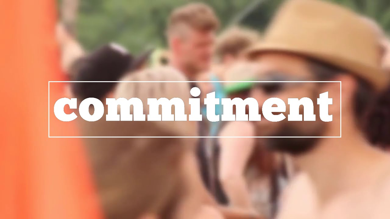 How do u spell commitment