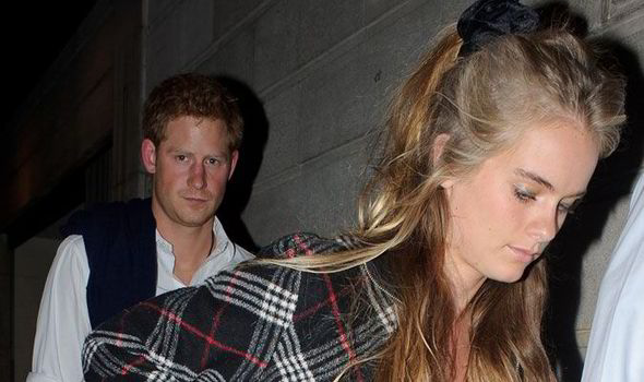 How long has prince harry been dating cressida