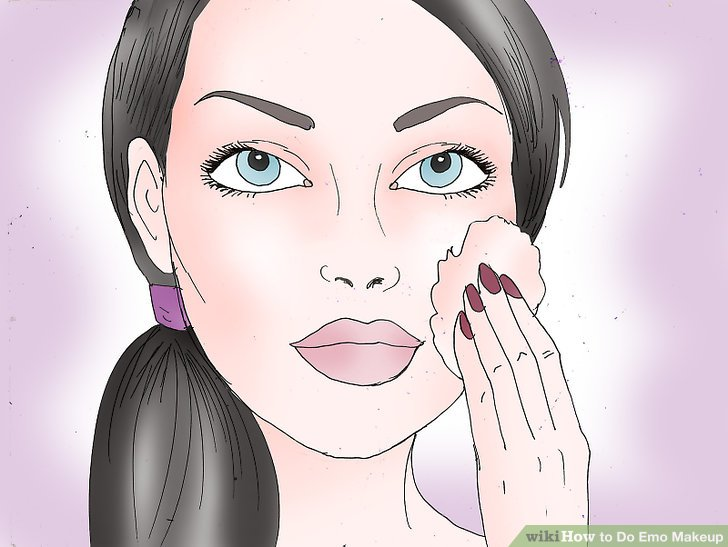 How to do emo makeup for beginners