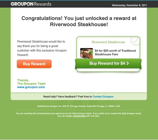 How to redeem a groupon online