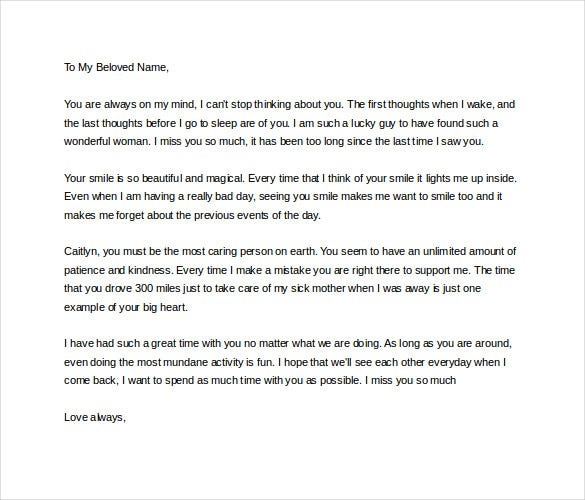 How to write a letter for your girlfriend