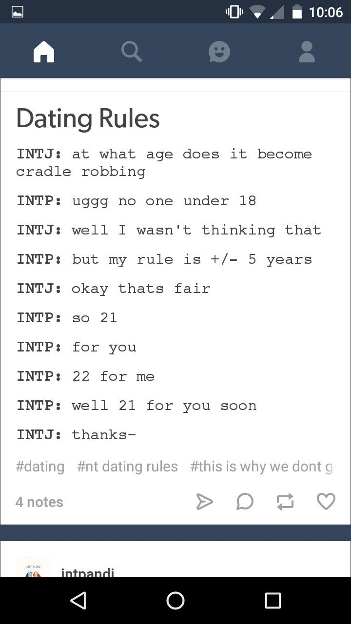 Intj dating infj