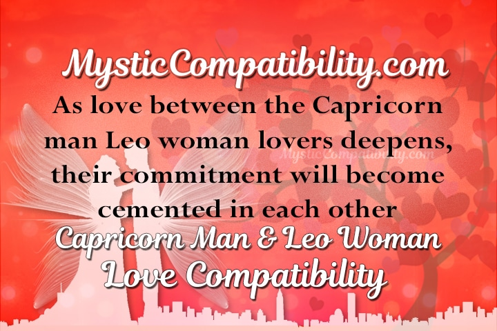Leo woman and capricorn woman compatibility