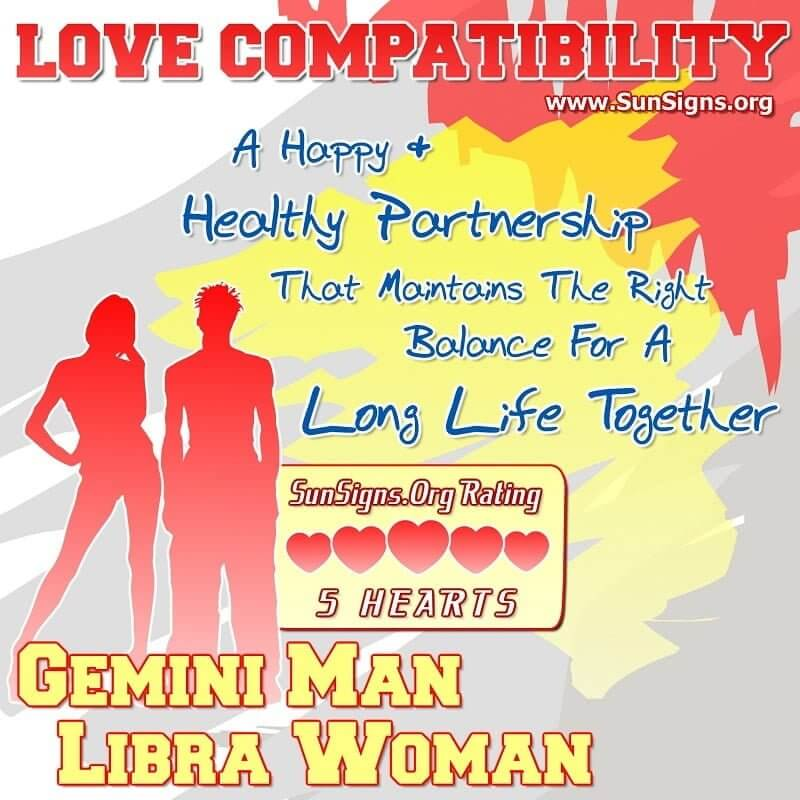 Libra and gemini love