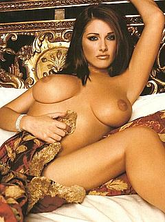 Lucy pinder showing her pussy