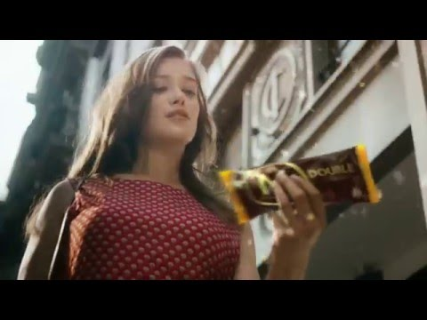 Magnum ice cream commercial girl