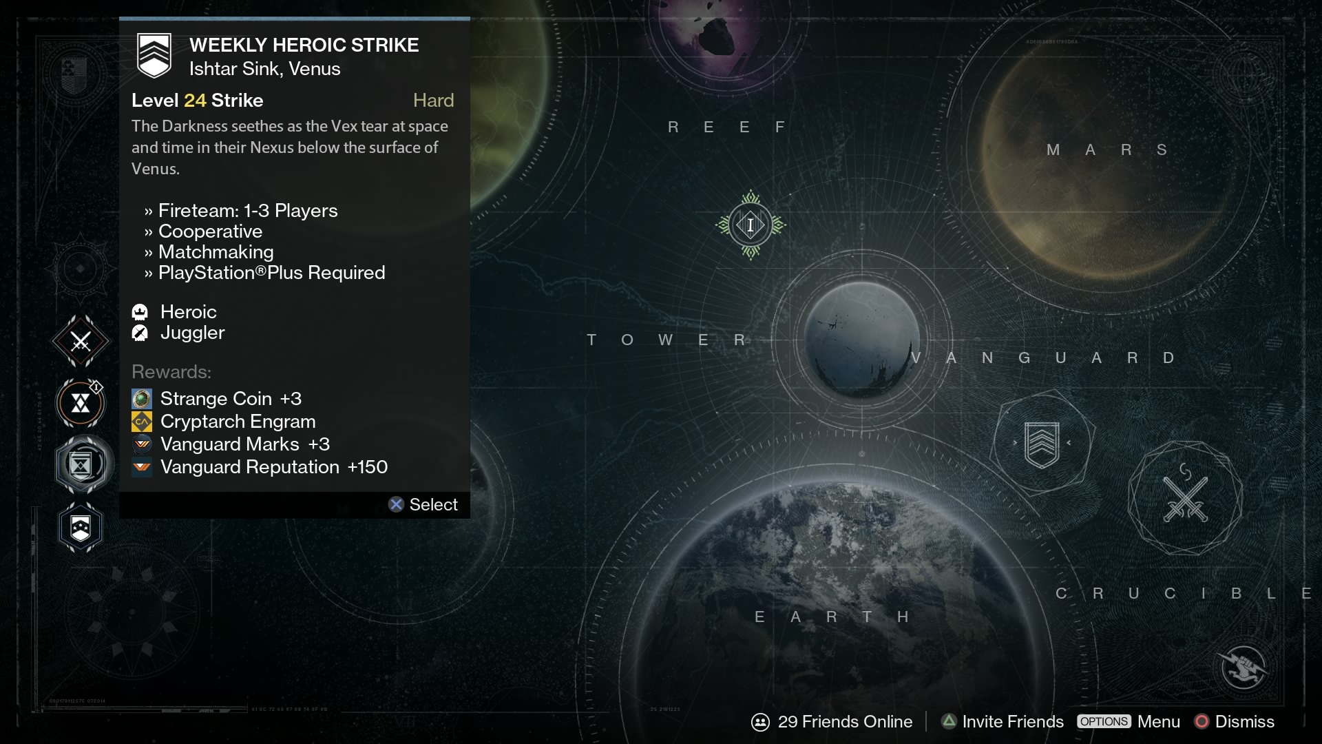 No matchmaking weekly heroic strike