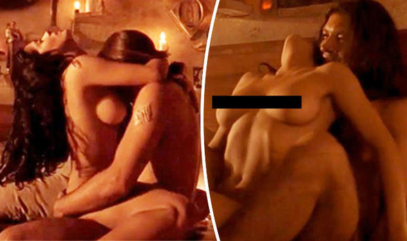 Salma hayek naked body
