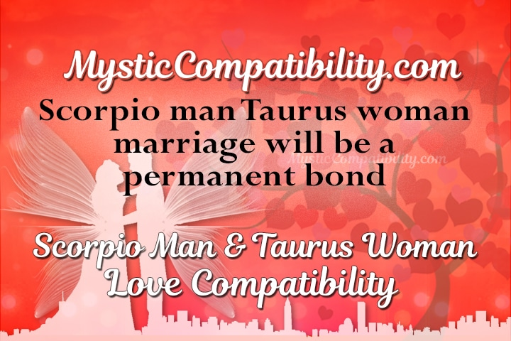 Scorpio male and taurus female love compatibility