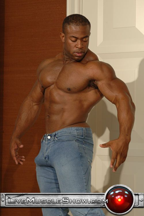 Hot buff black men with big dicks and pinoy men jerking in