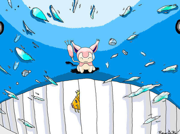 Skitty on wailord action