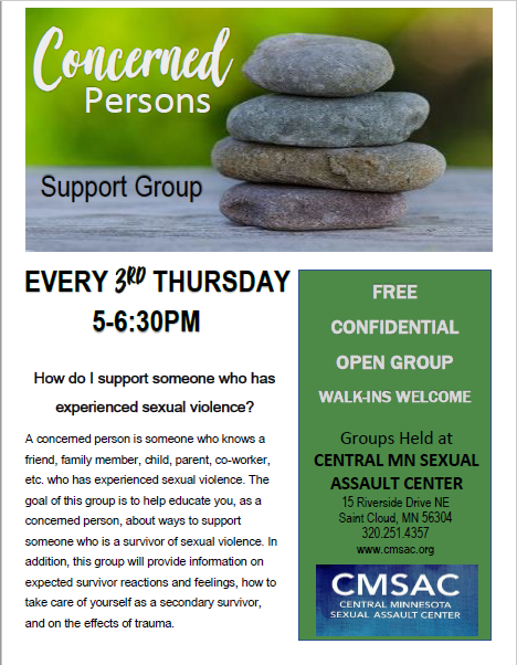 Support groups for sexual abuse