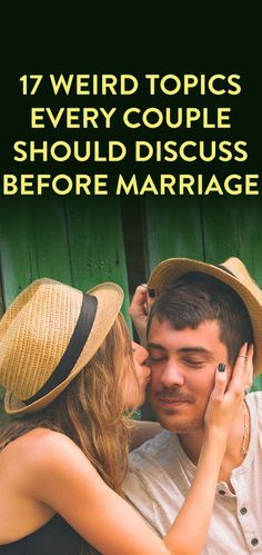 Topics to talk about before marriage
