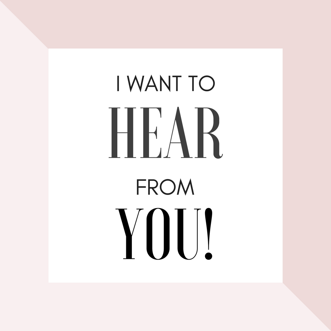 What do you want to hear