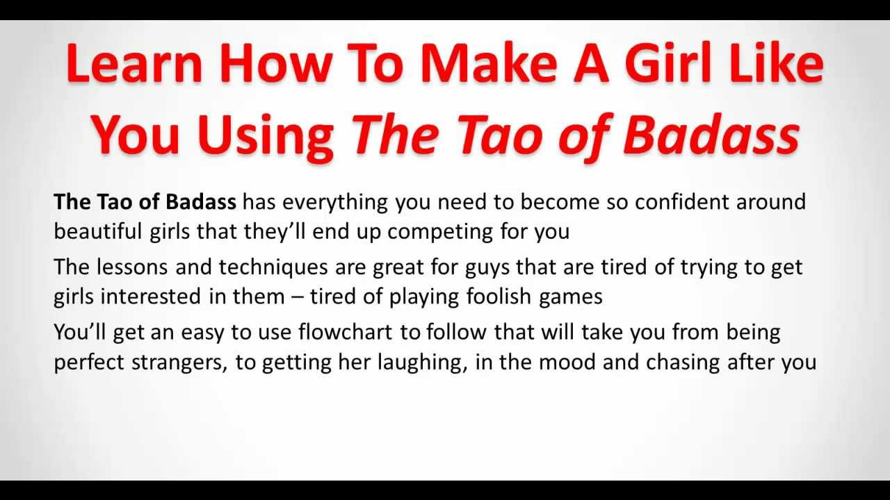What makes a girl like you
