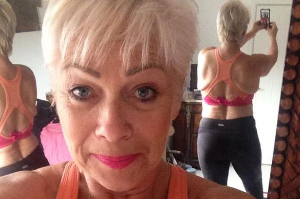 Denise welch boobs