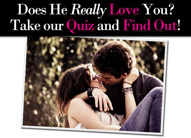 Is he really in love with me quiz