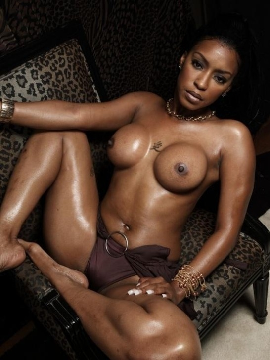 Nude black south african women