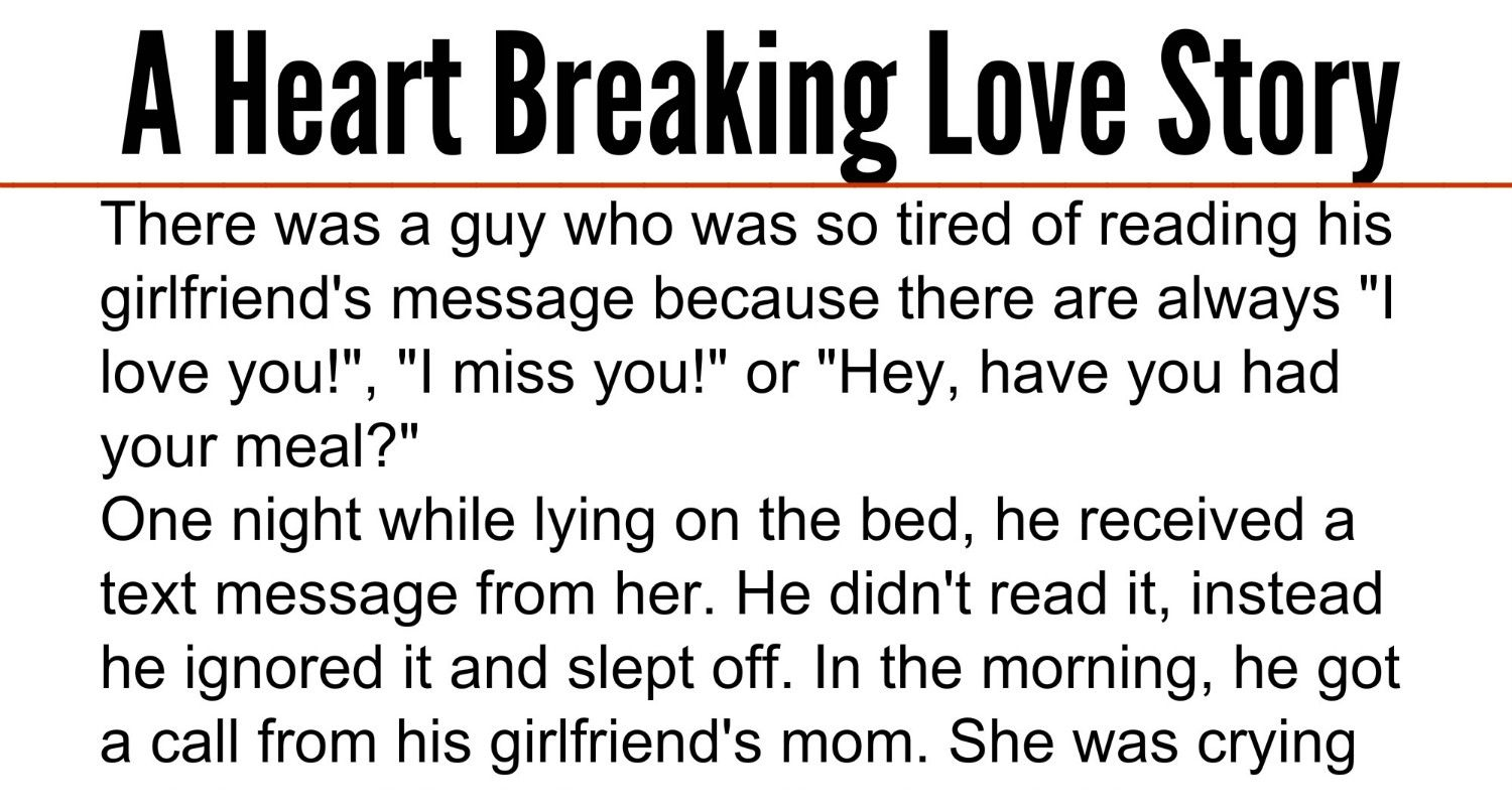Love story for your girlfriend