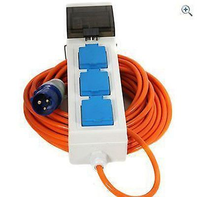 Electric hook up go outdoors