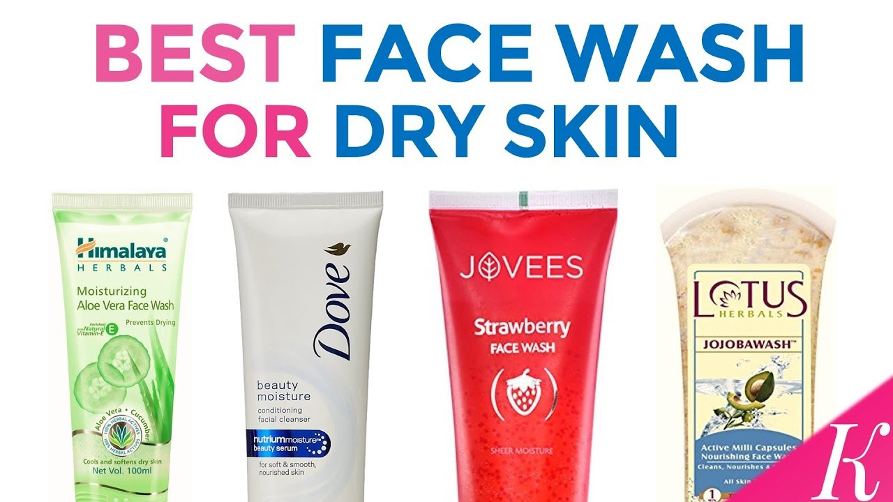Face wash for dry skin and acne