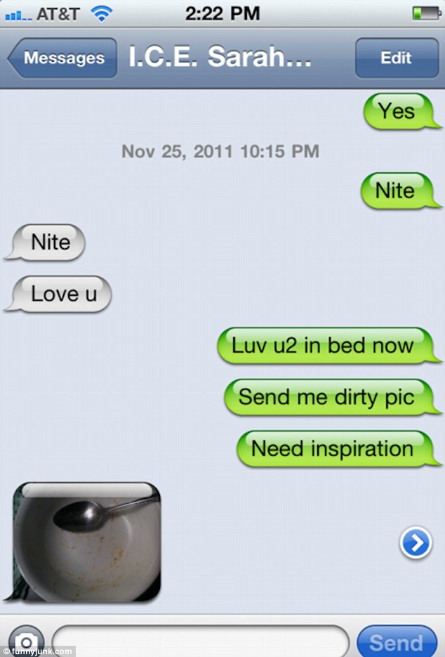 Very dirty sexting messages