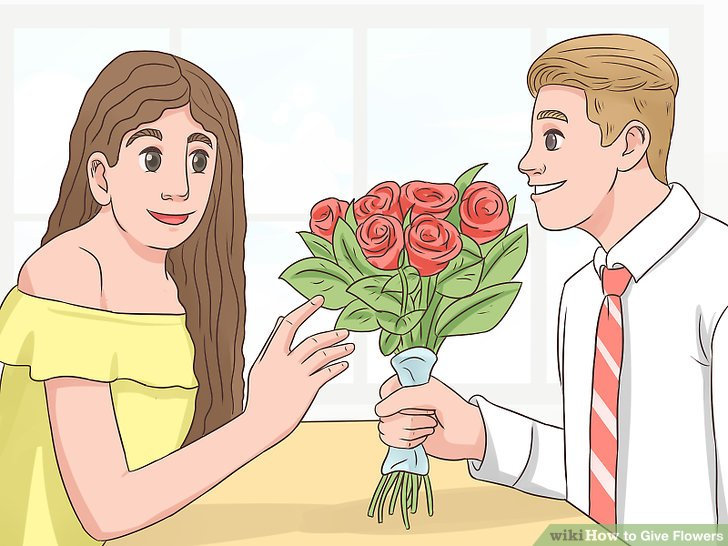 When to give a girl flowers